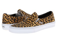 Vans Classic Slip On Digi Leopard Black True White Skate Shoes Animal Print