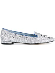 Chiara Ferragni 'Flirting' Slippers Metallic