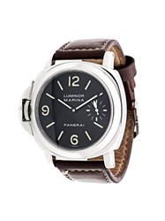 Panerai 'Luminor Marina' Analog Watch Black