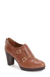 Bella Vita Women's 'Zia' Double Monk Strap Pump Biscuit Leather