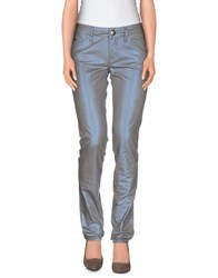 M Missoni Denim Denim Trousers Women Azure