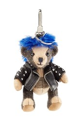 Burberry Shoes And Accessories The Punk Bear Cashmere Key Charm Multicolor