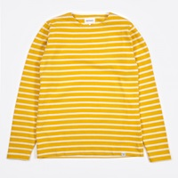 Norse Projects Godtfred Classic Compact T Shirt Rapeseed Ecru