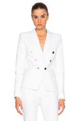 Alexandre Vauthier Cotton Blazer In White