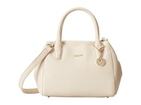 Dkny Tribeca Soft Tumbled Small Satchel W Center Zip And Det Shoulder Strap Sand Satchel Handbags Beige