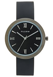 Pilgrim Watch Hematitecoloured Black