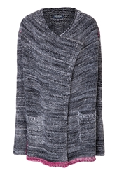 Zadig And Voltaire Mixed Knit Cardigan