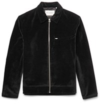 Our Legacy Cotton Velvet Jacket Black