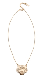 Kenzo Tiger Necklace Gold