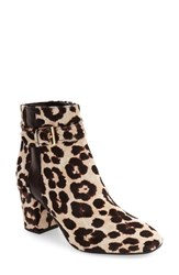 Kate Spade Women's New York 'Ovella' Genuine Calf Hair Square Toe Bootie