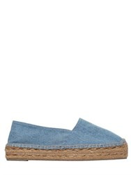 Castaner 30Mm Cotton Denim Espadrilles
