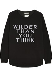 Each X Other Wilder Than You Think Merino Wool Blend Sweater Black