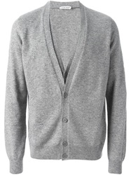 Tomas Maier Layered Cardigan Grey