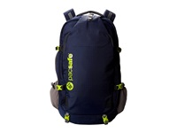 Pacsafe Venturesafe 55L Gii Anti Theft W Travel Pack Navy Blue Backpack Bags