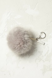 Anthropologie Flurry Key Ring Silver