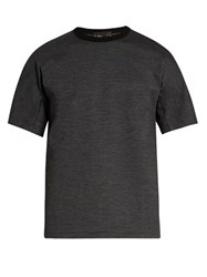 Kolor Crew Neck Wool Blend T Shirt Grey
