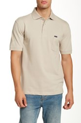 Faconnable Pique Polo Shirt Gray