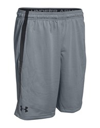 Under Armour Mesh Athletic Shorts Grey