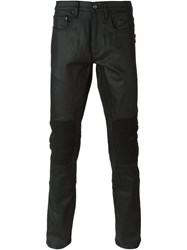 Belstaff Slim Fit Biker Jeans Black