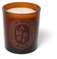 Diptyque Brown Amber Scented Candle 300G Red