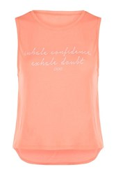 Lorna Jane Confidence Tank Orange