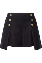 Sacai Luck Wool Felt Shorts