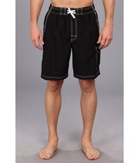 Speedo Marina Volley Swim Trunk Black Men's Swimwear