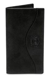 Ghurka Men's Leather Chest Pocket Wallet Black