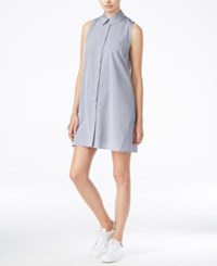 Racehl Rachel Roy Shift Shirtdress Chambray