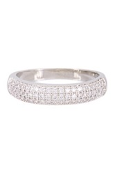 Nordstrom Rack Pave Cz Band White