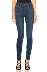 Paige Denim Hoxton Ultra Skinny In Blue