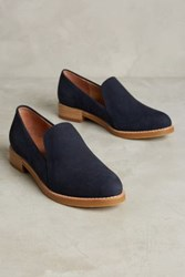 All Black Roslyn Nubuck Loafers Navy