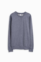Sunspel Crew Neck Marl Jumper Grey