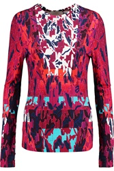 Peter Pilotto Lana Printed Crepe Top