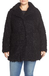 Plus Size Women's Steve Madden Faux Fur Coat