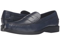 Cole Haan Pinch Campus Penny Rainstorm Toledo Men's Slip On Dress Shoes Blue