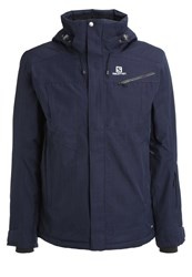 Salomon Fantasy Ski Jacket Big Blue Dark Blue