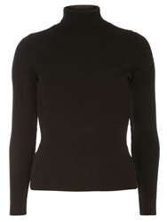 Dorothy Perkins Roll Neck Jumper Black