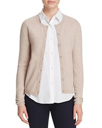 Bloomingdale's C By Crewneck Cashmere Cardigan Wicker