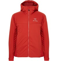 Arc'teryx Ato Lt Shell Hooded Jacket Red