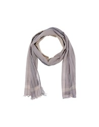 Golden Goose Accessories Oblong Scarves Women Dove Grey