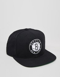 Mitchell And Ness Snapback Cap Brooklyn Nets Black
