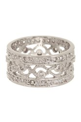 Ariella Collection Open Work Band Ring