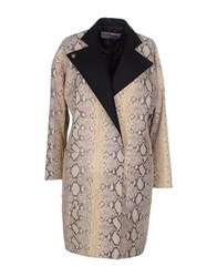 Emanuel Ungaro Coats And Jackets Coats Women Beige