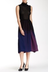 Stella And Jamie Azura Ombre Skirt Blue