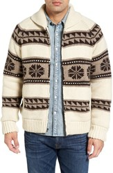 Schott Nyc Men's Lined Zip Sweater Jacket
