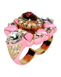 Shourouk Jewellery Rings Women Fuchsia