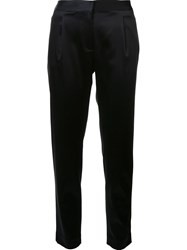 Alexander Wang T By Cropped Trousers Black