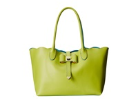 Betsey Johnson Extra Baggage Tote Lime Tote Handbags Green