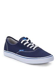 Fila Classic Canvas Lo Rise Sneakers Navy